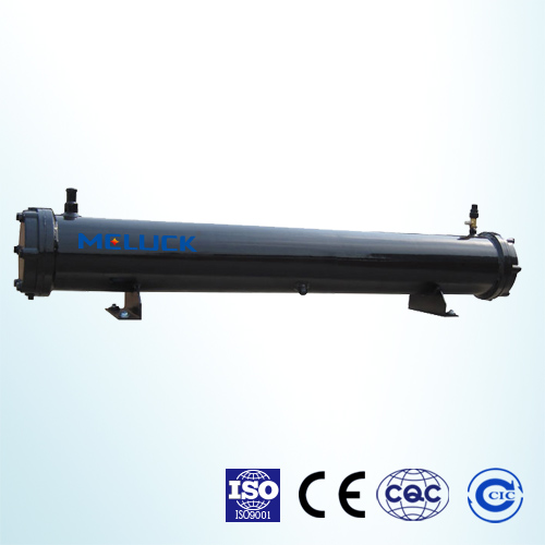 WS high efficiency shell and tube type condenser